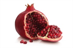 January: Pomegranate