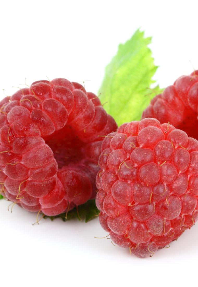 August: Raspberries