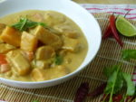 Squash and chickpea Thai-style curry